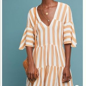 Faithfull The Brand Memphis Striped Tunic Dress
